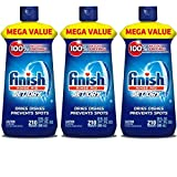 Finish Jet-Dry Rinse Aid, 23oz, Dishwasher Rinse Agent & Drying Agent - 3 Pack