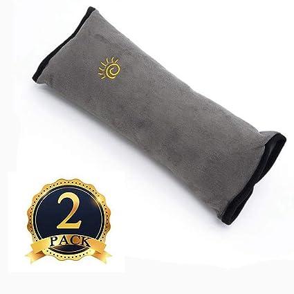 LXYPLM Almohadilla Cinturon Seguridad 2-Pack Correa ...