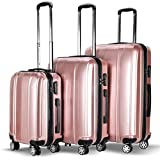 Best piece carry on luggage set - Goplus 3 Piece Luggage Set Hard Rolling Suitcases Review
