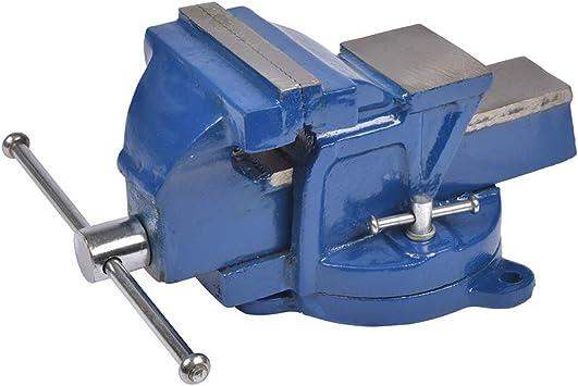 Cogex 64015 - Tornillo de banco con base giratoria (fundición ...
