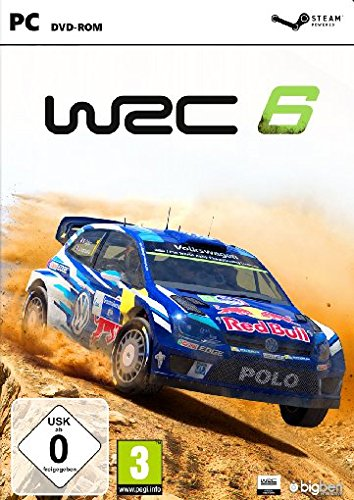 Image result for WRC 6 FIA World Rally Championship pc dvd