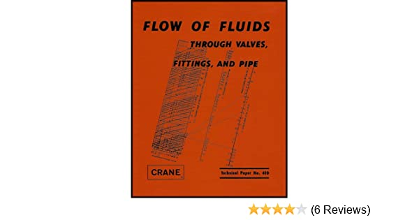 Flow Of Fluids Through Valves Fittings And Pipe Technical