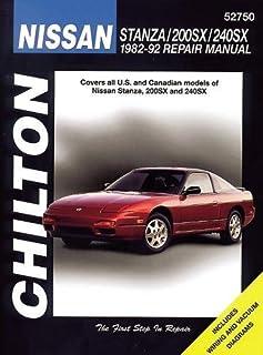 nissan 240sx altima 1993 98 chilton s total car care repair rh amazon com 1996 Nissan Altima Repair Manual Nissan Altima Maintenance Manual
