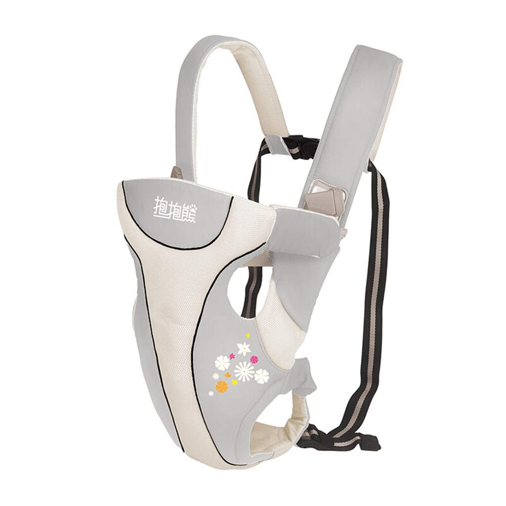 FIFY Babytrage Multi-funktionale Babytrage/Babytrage / Tasche/Schlinge Pro-Brief Baby mit Multifunktions-Baby-Reise mit A02 braun Farbcode, C