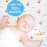 1 Soft & Cozy Muslin Cotton Baby Crib Sheet