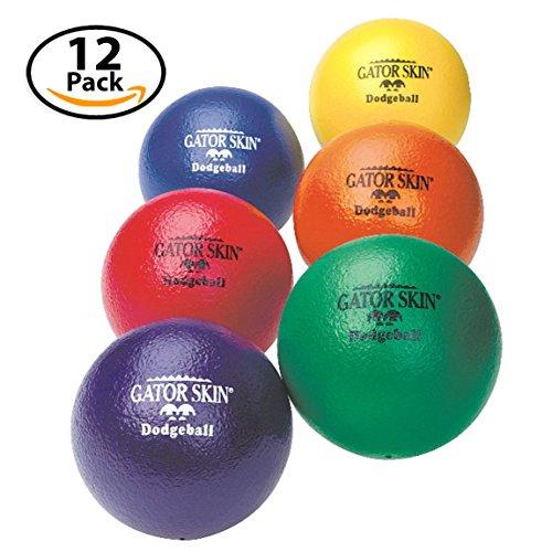 S&S Worldwide Gator Skin Dodgeballs (set of 12) by S&S Worldwide