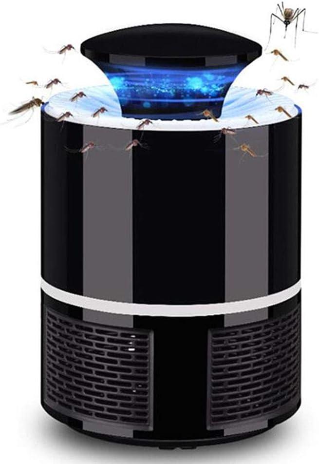 Yissma - Trampa para Mosquitos y Mosquitos (protección UV, protección contra Insectos, Carga USB, no tóxica, no radiación, para Camping y casa)