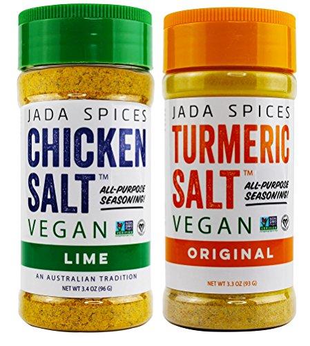 Chicken Salt - Vegan, Non-GMO, NO MSG, Gluten Free, Australias #1 All-Purpose Seasoning (Turmeric Salt, Lime)