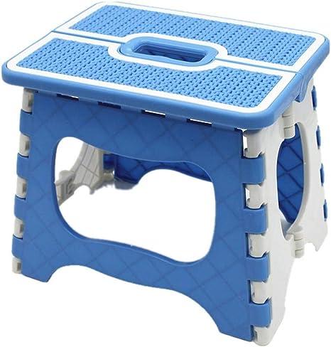 parfait pour la cuisine la salle de bain Grand marchepied pliable en plastique antid/érapant les enfants et les adultes.