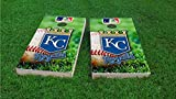 Kansas City Field Cornhole Set, 1x4 Frame (25% Lighter)