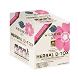 Garden of Life 12 Day Detox Cleanse - Wild Rose Herbal D-Tox Kit