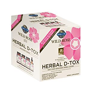 Garden of Life 12 Day Detox Cleanse Wild Rose Herbal D Tox Kit (12 Day)