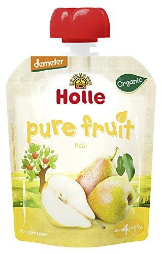 Holle Smoothie Pera (+4 meses) - Paquete de 12 x 90 gr - Total: 1080 gr