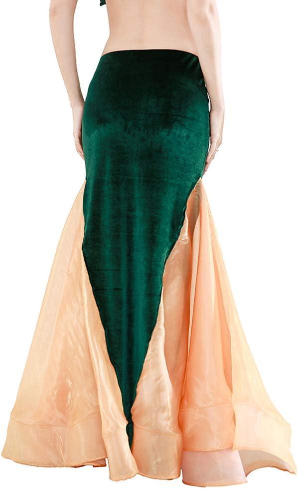 ROYAL SMEELA Falda de Sirena Faldas de Danza del Vientre para ...