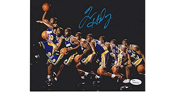 d83705f8d Tim Hardaway Signed Autographed 8x10 Photo JSA Certified Golden Sate  Warriors NBA at Amazon s Sports Collectibles Store
