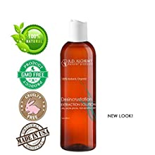 Restore the youthful appearance of your face by clearing your pores with this all natural Desincrustation Solution.Absorbs quickly and deeply with no left over reside. Suitable for people with oily, congested, or acne-prone skin types, this n...