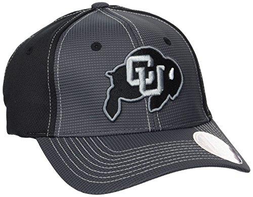 (Zephyr NCAA Colorado Buffaloes Adult Men Grid Cap, X-Large, Gray/Team Color)