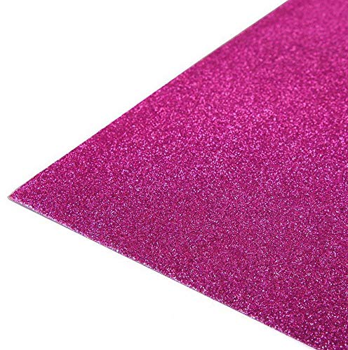 (Mikash 12 x 18 Glittered Foam Sheets Crafts DIY Wedding Party Decorations Supplies | Model WDDNGDCRTN - 24342 |)