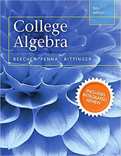 College Algebra with Integrated Review and Worksheets plus NEW ...