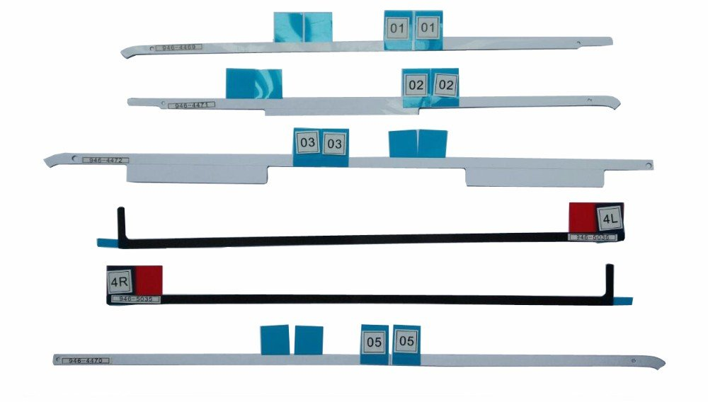 Willhom (076-1444) LCD Display Adhesive Strips Replacement for iMac 27 A1419 (Late 2012-Late 2015)(A1419 Adhesive Strips)