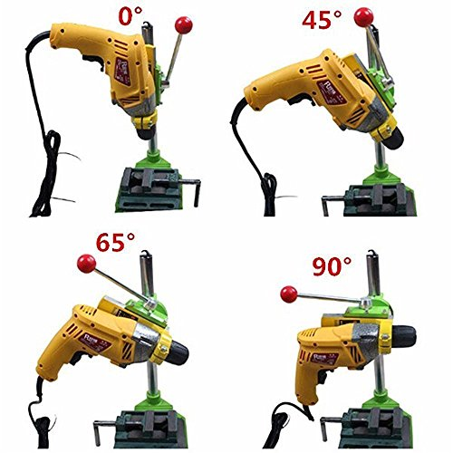 Xiangtat Floor Drill Press / Rotary Tool Workstation Drill Press Work Station / Stand Table for Drill Workbench Repair ,drill Press Table ,Table Top Drill Press90° Rotating Fixed Frame by Xiangat (Image #6)