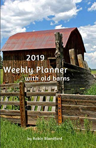 2019 Weekly Planner with Old - The Fences Book Swing For