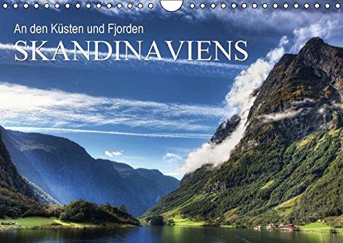 An den Küsten und Fjorden Skandinaviens (Monatswandkalender 2016, DIN A4 quer) (CALVENDO Natur)