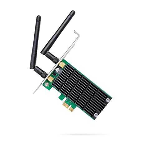 TP-Link AC1200 PCIe Wireless Wifi PCIe Card | 2.4G/5G Dual Band Wireless PCI Express Adapter | Low Profile, Long Range Beamforming Heat Sink ...