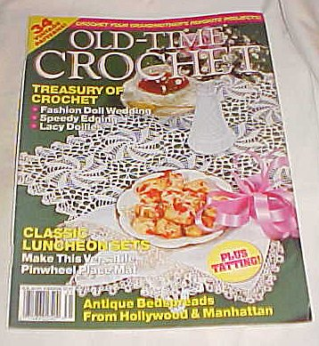 Old-Time Crochet Spring 1993 Magazine (34 Patterns) (Volume 15 Number 1) -