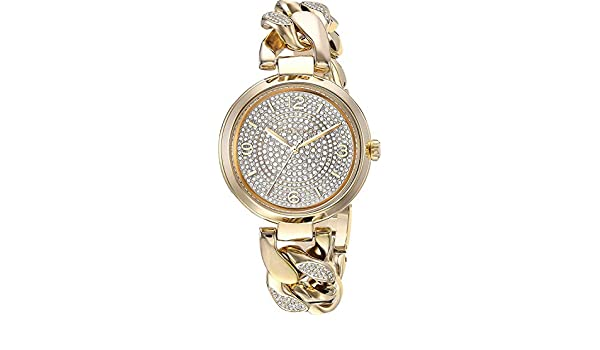 Amazon.com: Michael Kors Womens MK3634 - Bradshaw Gold Tone One Size: Watches