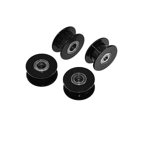 UsongShine - Polea para cinturón GT2 (calibre 16/20, agujero para rueda de