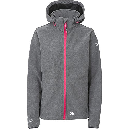 Ladies Waterproof Womens Trespass Softshell Raspberry Jacket Breathable Ramona Carbon 745xRnwOqx