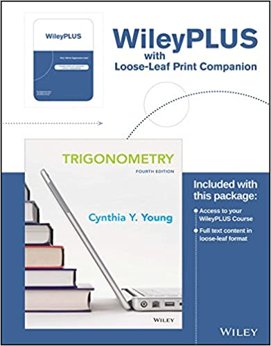 Trigonometry 4e wileyplus learning space registration card loose trigonometry 4e wileyplus learning space registration card loose leaf print companion 4th edition fandeluxe Choice Image