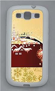 Samsung S3 Case Merry Christmas Wish TPU Custom Samsung S3 Case Cover White