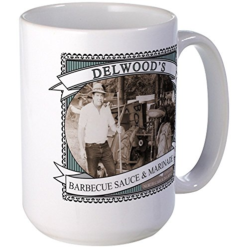 CafePress - Delwoods Barbecue Sauce Logo Mugs - Coffee Mug,