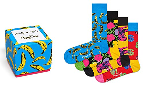 Collection Warhol Andy (Happy Socks, Andy Warhol Gift Set (4 pack) (Large))