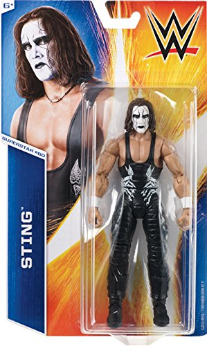 STING - WWE SERIES 55 MATTEL TOY WRESTLING ACTION FIGURE (Wwe Action Figures Sting compare prices)