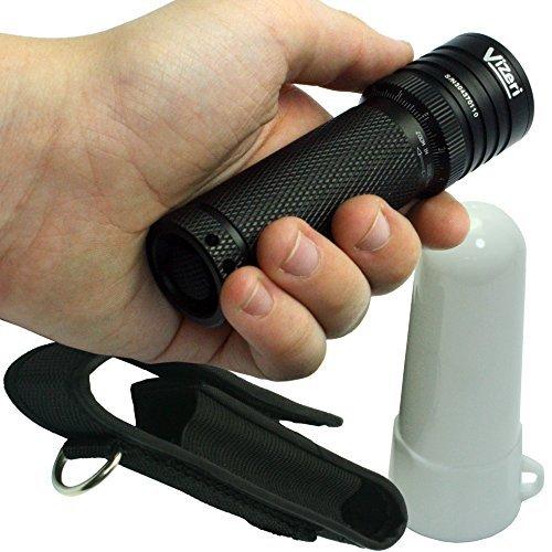 Vizeri Cree XML T6 LED Tactical Flashlight with Focusing Lens