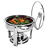 Denmark 7-Piece 4 qt. Stainless Steel Chafing Dish