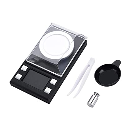 Mini Báscula Digital LCD Portátil Electrónica Bolsillo Alta Precisión Escala 0.001g Joyería Oro Pesado Herramientas