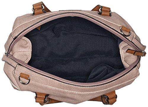 GERRY WEBER Summer Wish Handbag Mhz - Bolso de mano Mujer Pink (Pink (rose))