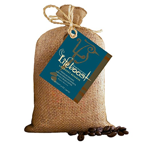 Premium Organic Coffee Beans By Lifeboost - Single Origin Organic Fair Trade Nicaragua Coffee Beans - 12 oz Whole Bean Medium Roast (Club Plant Best Of The Month)