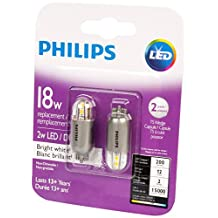Philips 463471 Led 18W T5 Wedge Capsule Bright White (3000K) Non-Dimmable-2 Pack