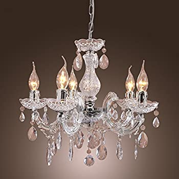 LightInTheBox Dainty Stylish 1 Light Flush Mount In Crystal