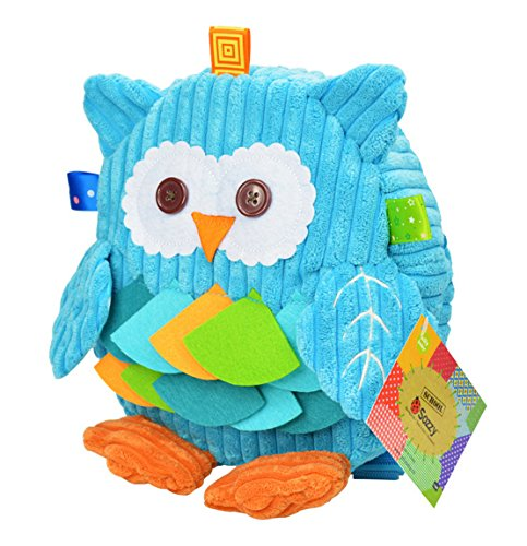 School Toddler Backpacks Zoo 3D Cute Cartoon Owl Shoulder Bags