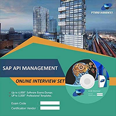 SAP API MANAGEMENT Online Interview Video Learning Set (DVD): Amazon