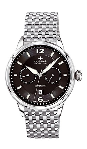 Premium Mens Watch Kappa Kalender Automatic - Dugena 7090304