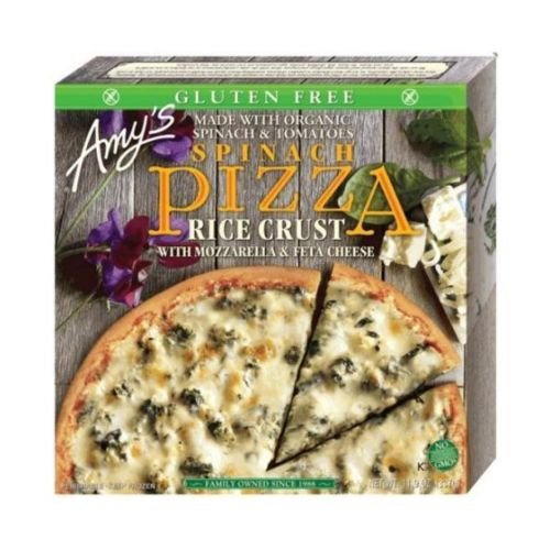 Amys Rice Crust Spinach Pizza, 14.6 Ounce -- 8 per case.