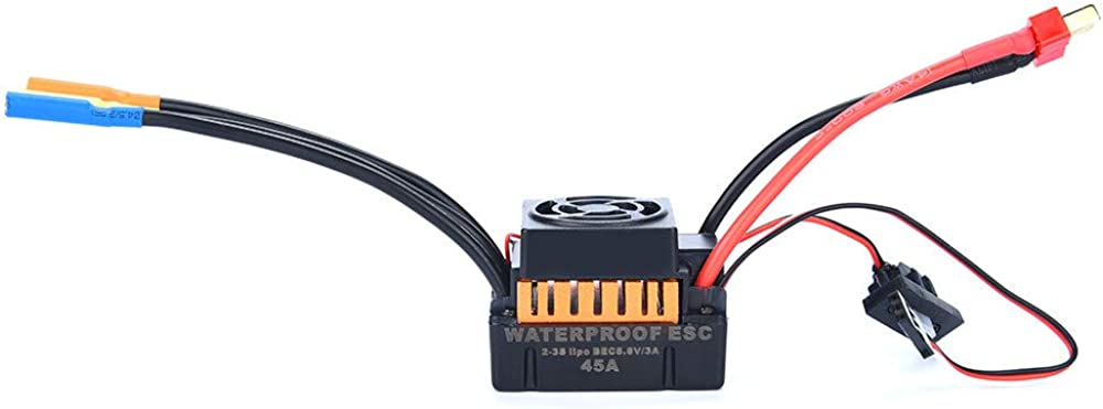 Toys & Hobbies RC Helicopters F540 4370KV Waterproof Brushless Motor&45A ESC for 1/10 RC Racing Car Boat
