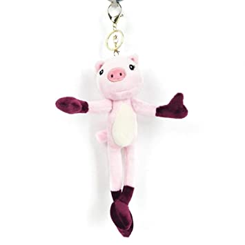 Llavero de cerdo de peluche Mini Lindo Animal Colgando ...
